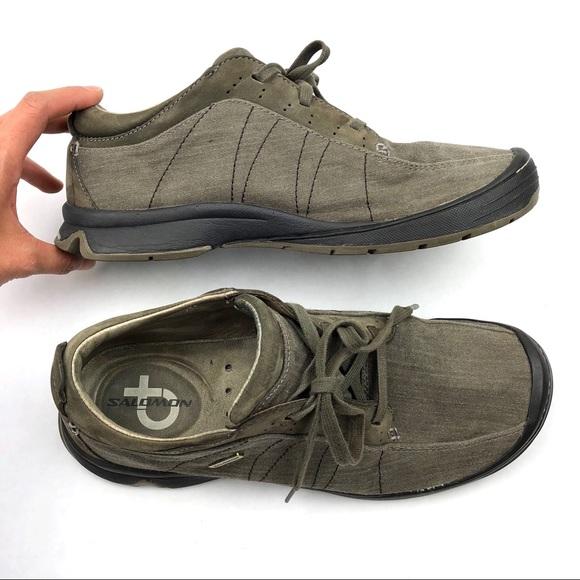 Salomon Shoes   Mens Canvas Casual